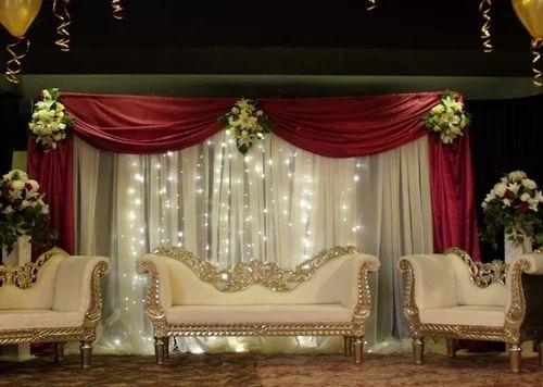 Bridal Stage Decoration व ड ग स ट ज