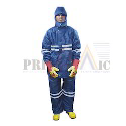 Polyester Unisex Cold Storage Suit