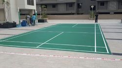 PVC Badminton Sports Flooring