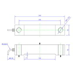 Load Cell Double Shear Beam