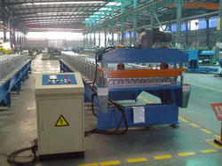 Structureless Roofing Sheet Making Machine