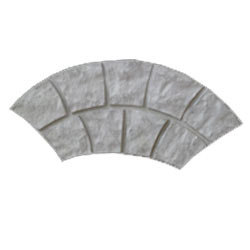 Arch Interlocking Tile Mold