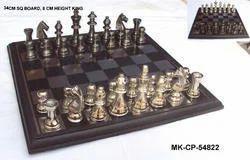 Black Aluminium Metal Chess Pieces
