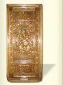 Wooden Door (carved Ganesha)