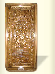 Wooden Door Carved Ganesha At Rs 2500 Square Feet S