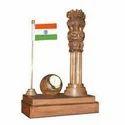 Wooden Ashoka Pillar Gift Items