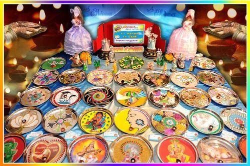 Shree Annai Aarathi Plates Decors Manufacturer Of Aarathi Plates