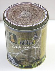 Round Tin Cans