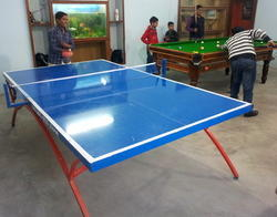 Table Tennis Table Styled Frame Model