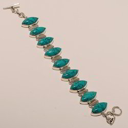 Sterling Silver Turquoise Bracelet 31.00