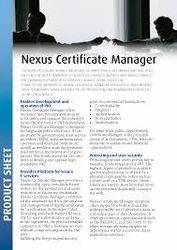 Nexus Certificate