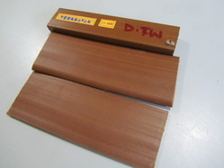 Dark Teak Wood PVC Profiles