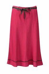 Plain Long Skirt