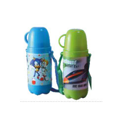 Sleek Big Plastic School Kids Water Bottle
