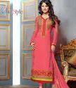 Pink Pakistani Anarkali Suit