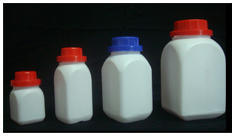 HDPE Wide Mouth Square Agro Bottle