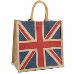 Flag Printed Jute Bags