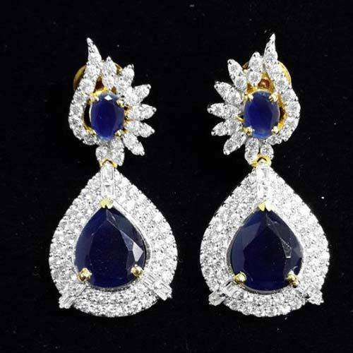 Prakash American Diamond Stone Earrings