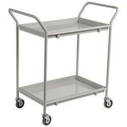 Two Tray Service Trolley