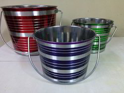 Stainless Steel Color Pail Buckets