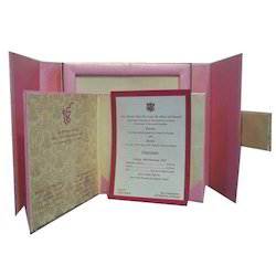 Magnetic Wedding Card with Box