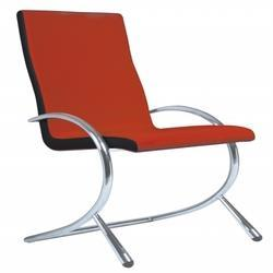 Red Stainless Steel Chair, for Cafe