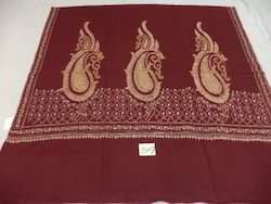 Pure Woolen Hand Embroidered Paisley Shawls