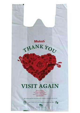 Thank You Printed Plastic Bags
