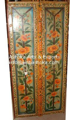 Wooden Painting Door & Wooden Painting Door | Ashoka Exports | Exporter in Trident Main ...
