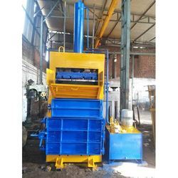 Mild Steel Single Box Pet Bottle Baling Machine