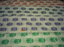 Khadi Printed Fabric
