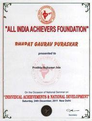 Bharat Gaurav Puraskar