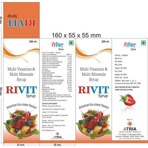 Multi Vitamins with Multi Minerals Syrup