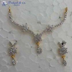 American Diamond Mangalsutra Sets