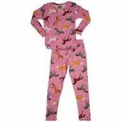 Girls Cotton Pajama Set  dbb11952c
