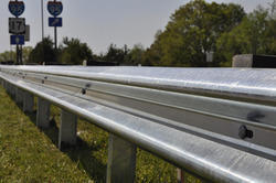 Galvanizing Services for Crash Barriers