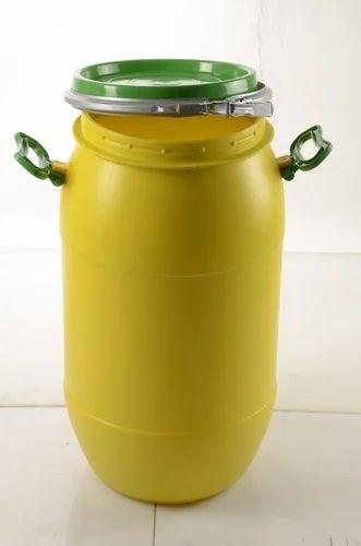 e1df87cda9 Yellow HDPE 35 Liters Open Top Drum