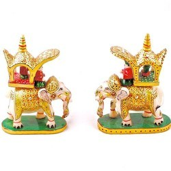 Pair of Royal Elephant Ambabari