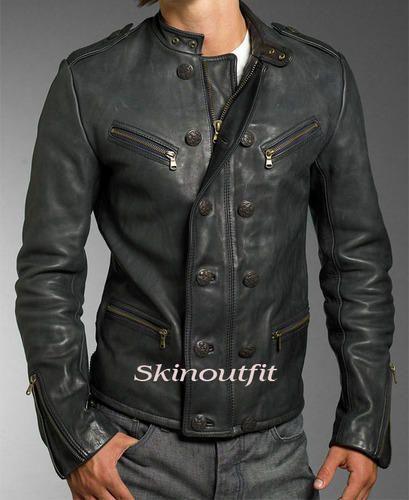 41adc4e86be8 Latest Design Casual Fashion Men Leather jacket - Skinoutfit