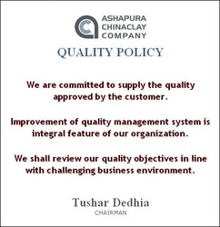 Quality Policy: