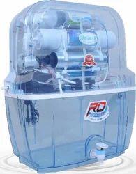 Silver Line Domestic RO UV Purifier, Capacity: 10 Liters(Storage)