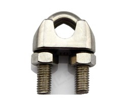 Mild Steel GI Wire Rope Clamp