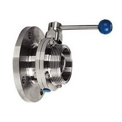 Butterfly Valve Flange End