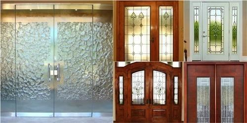 Door Glass Designs Adorable Door Glass Designs Glass Designing Services  New B Glass Works . Decorating Design