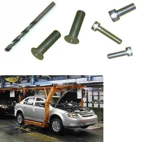 Industrial Hardware Components for Automobile Industry