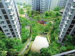 Landscaped Lawns With Jogging Track