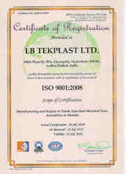 ISO Certificate 9001:2008