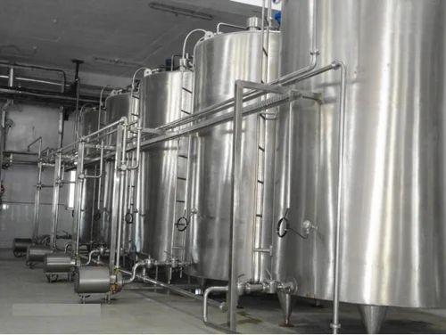 Dairy Equipments Milk Storage Tanks Manufacturer From Noida