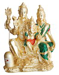 Gold Plated Shiv Family