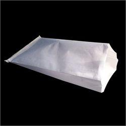 White HDPE Laminated Paper Bag